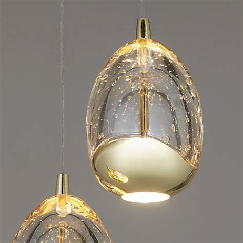 buy lewis 3 droplet led pendant ceiling light