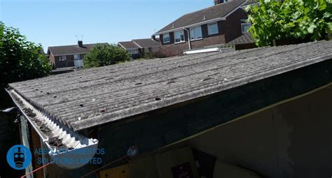 asbestos garage roof removal ashbee solutions limited