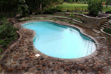 Backyard Swimming Pool by Backyard Landscaping Ideas Swimming Pool Design