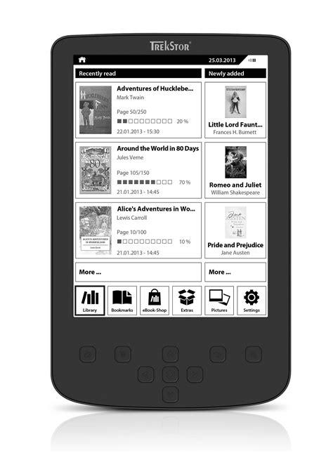 Ebook Reader Illuminato by Trekstor Pyrus 2 Led Ebook Reader Con Display Illuminato