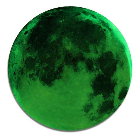 bureau romantique romantique lumineux fluorescent lune terre autocollant