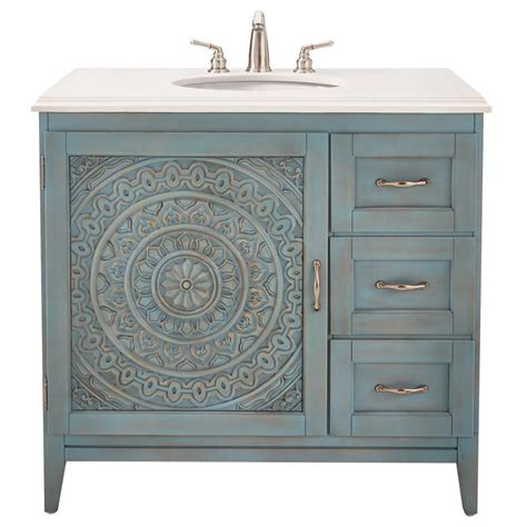 blue vanity top home decorators collection chennai 37 in w single vanity