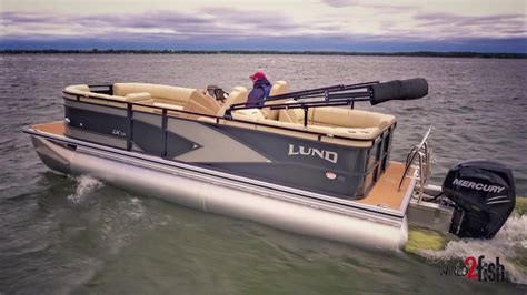 Lund Pontoon Boats by Lund Launches New 2017 Lx Pontoon Series