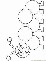 Coloring Caterpillar Animals Template Bojanke Sheets Caterpillar2 Colorear Templates Printable Gusano Za Printanje Pintar Gusanito Colorare Animali Dibujos Kolorowanki Malen sketch template