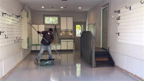 polyaspartic garage floor coating - Garage Floor Coating Youtube