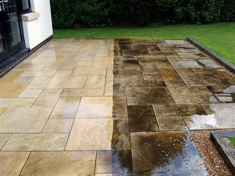 how to clean grease patio pavers aqua drive clean