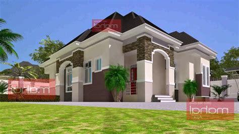 bedroom bungalow house plans  nigeria  description  description youtube