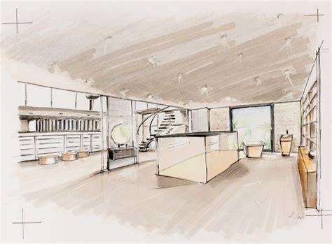 perspective salle de bain croquis d architecture et de paysage cours de dessin atelieer3113