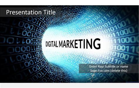 digital electronics template free digital marketing powerpoint template 5619 sagefox