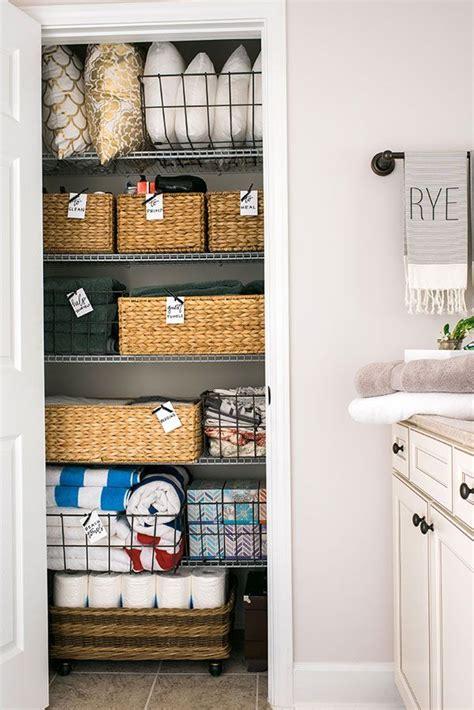 Bathroom Linen Closet Ideas by How To Linen Closet Organization Home Linen Closet