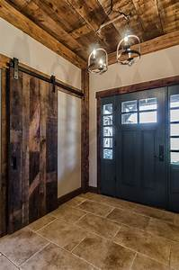 Reclaimed, Wood, In, The, Entryway, An, Elegant, And, Eco