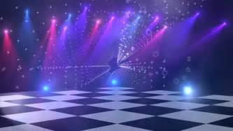 square tv screen floor disco lights background 4 for titles