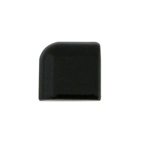 daltile semi gloss 2 in x 2 in black ceramic bullnose