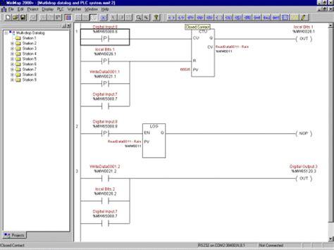 Omron Plc Diagram by Omron Plc Ladder Programs Free Developersyoga