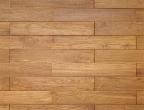 Unfinished hardwood teak flooring