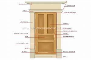 maison gt elements de la maison gt porte exterieure image With montant de porte bois
