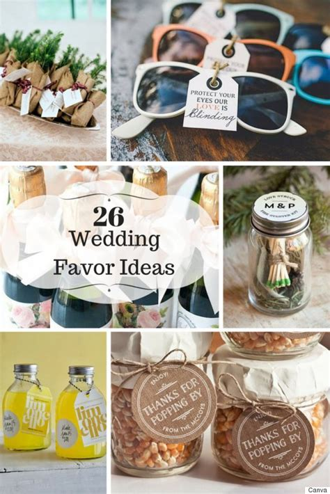 wedding guest gift ideas 26 wedding favour ideas your guests will