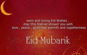 Eid Mubarak Pictures with Quotes in English, Eid SMS ...