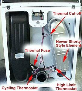 Dryer Wiring Diagram For Motor Electric Whirlpool Roper