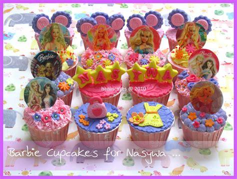 dapurnya bunda hanin barbie cupcakes set