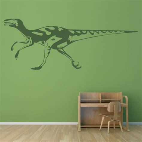 velociraptor wall sticker dinosaur wall decal kids bedroom