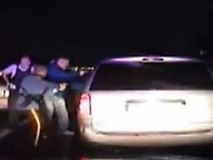 Dashcam video shows the arrest of ex-cop who 'stabbed the ...