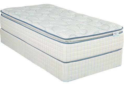 Therapedic Garnet Low Profile Twin Mattress Set