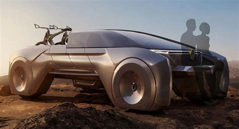renault suv concept futuristic renault subtil can transform from pickup to suv
