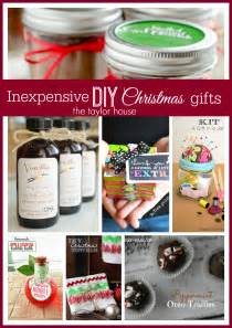 inexpensive diy christmas gift ideas the taylor house