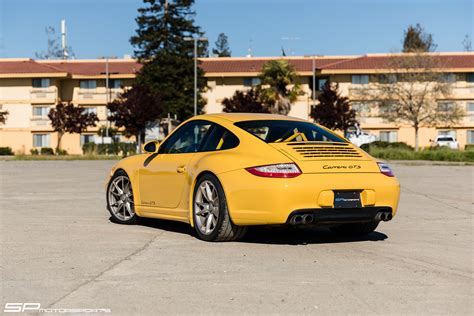 sp motorsports porsche speed yellow  gts roll bar
