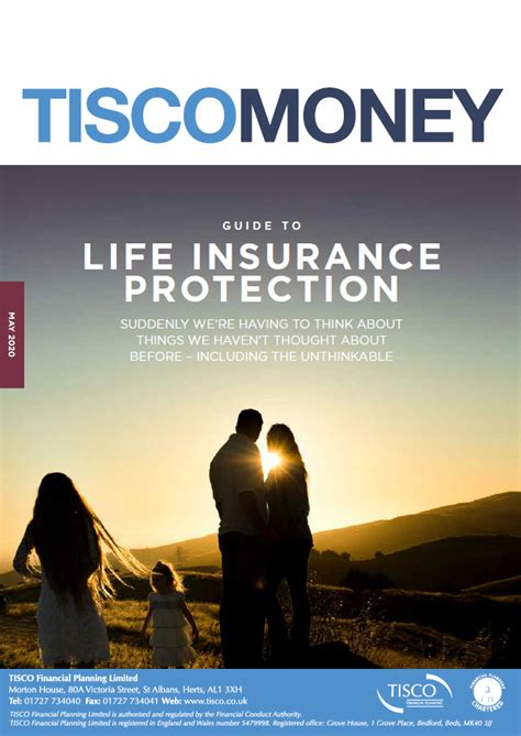This is mainly because it is hard to put a price on knowing. Life Insurance Protection | TISCO - Chartered Financial Planning and Independent Financial ...