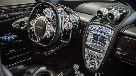 pagani interior dashboard a perfect blend of past and future the interior of the