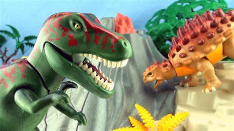 playmobil tyrannosaurus dinosaur playmobil  dinos