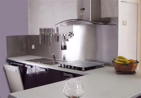 cuisine avec credence inox cuisine avec credence inox 28 images credence inox pas