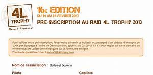 4l Trophy Inscription : pr inscription au 4l trophy 2013 une bulle pour le champagne un boulon pour la 4l ~ Medecine-chirurgie-esthetiques.com Avis de Voitures