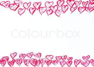valentines day borders horizontal creative colorful abstract frame with bautterflies and