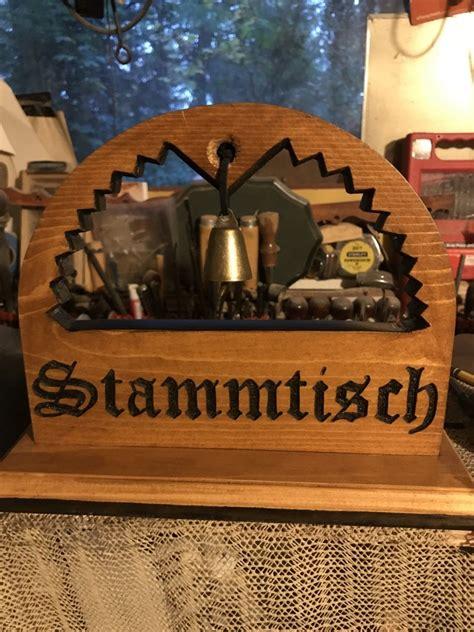 custom stammtisch table sign stammtisch stammtisch schild