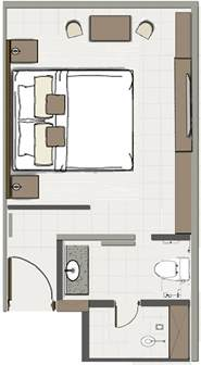 room floor plans hotel room plans layouts interiors