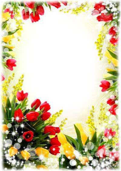 flowers borders  png transparent image
