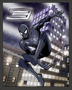 Spiderman 3 black suit by sirjoe64 on DeviantArt