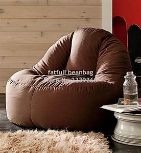 cover only no filler brown bean bag sofa chair outdoor With bean bag furniture set