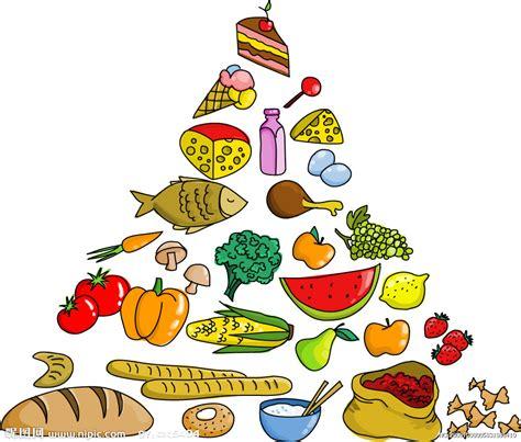 食物金字塔矢量素材矢量图水果生物世界矢量图库昵图网nipiccom