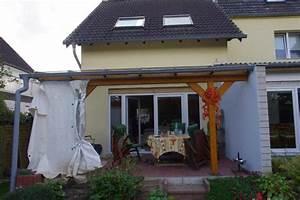 terassenuberdachung holz mit glasdach in sankt augustin With französischer balkon mit mediterrane pflanzen für den garten