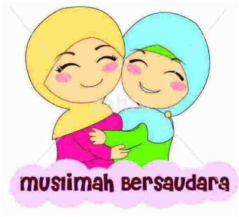 contoh gambar karikatur anak muslim koleksi gambar hd