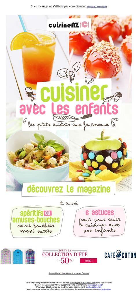 cuisine a az galerie de newsletters cuisine az cuisiner avec les enfants 60 recettes pour les enfants et