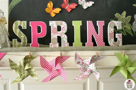 spring mantel inspiration sunday hoosier homemade