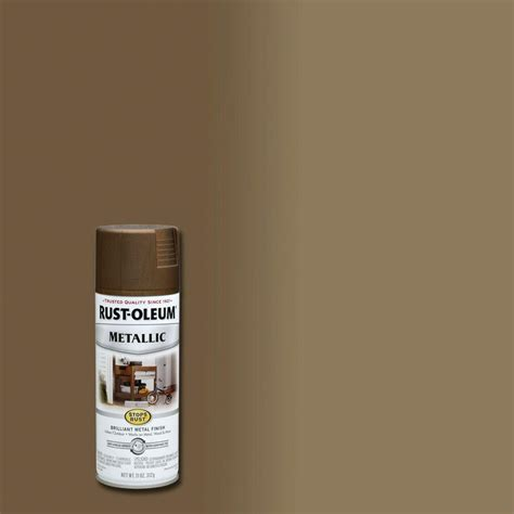 rust oleum stops rust 11 oz antique brass protective