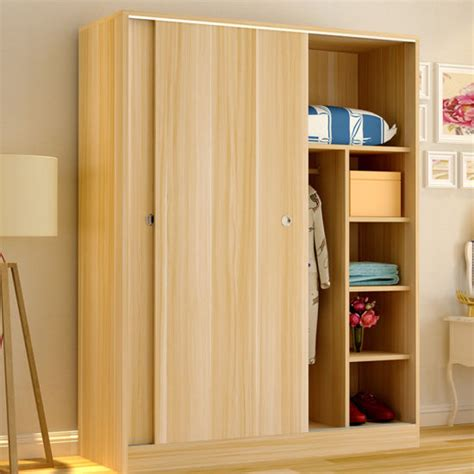 Bedroom Cabinet Design Images by China Simple Modern Mfc Wooden White Bedroom Wardrobe