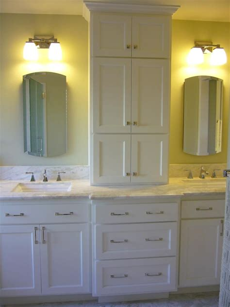 bathroom vanities style sinks tower storage