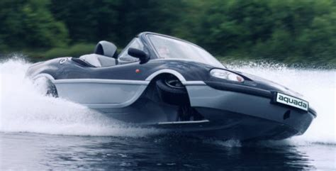Gibbs Lowers Price On Aquada, A Land And Water Sports Car